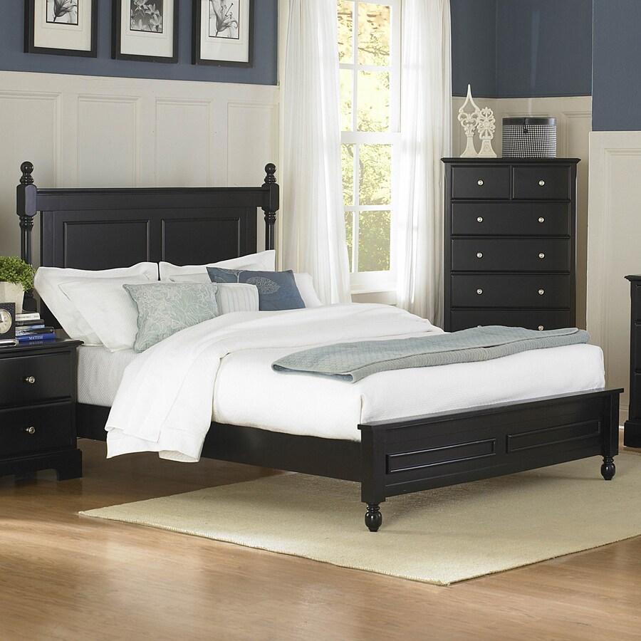 Homelegance Morelle Black Queen Panel Bed