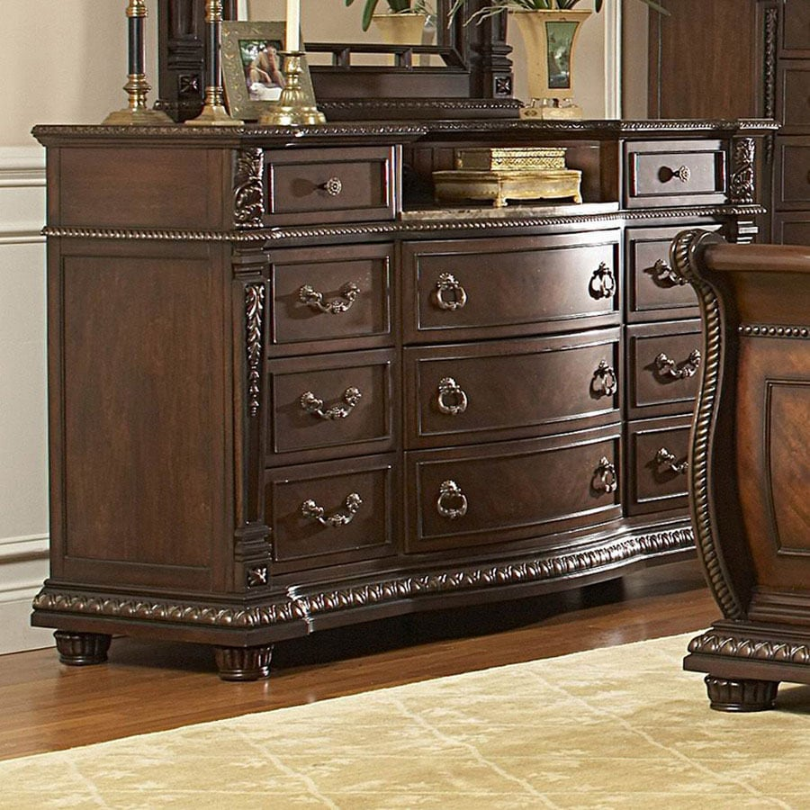 Homelegance Palace Rich Brown 11-Drawer Dresser