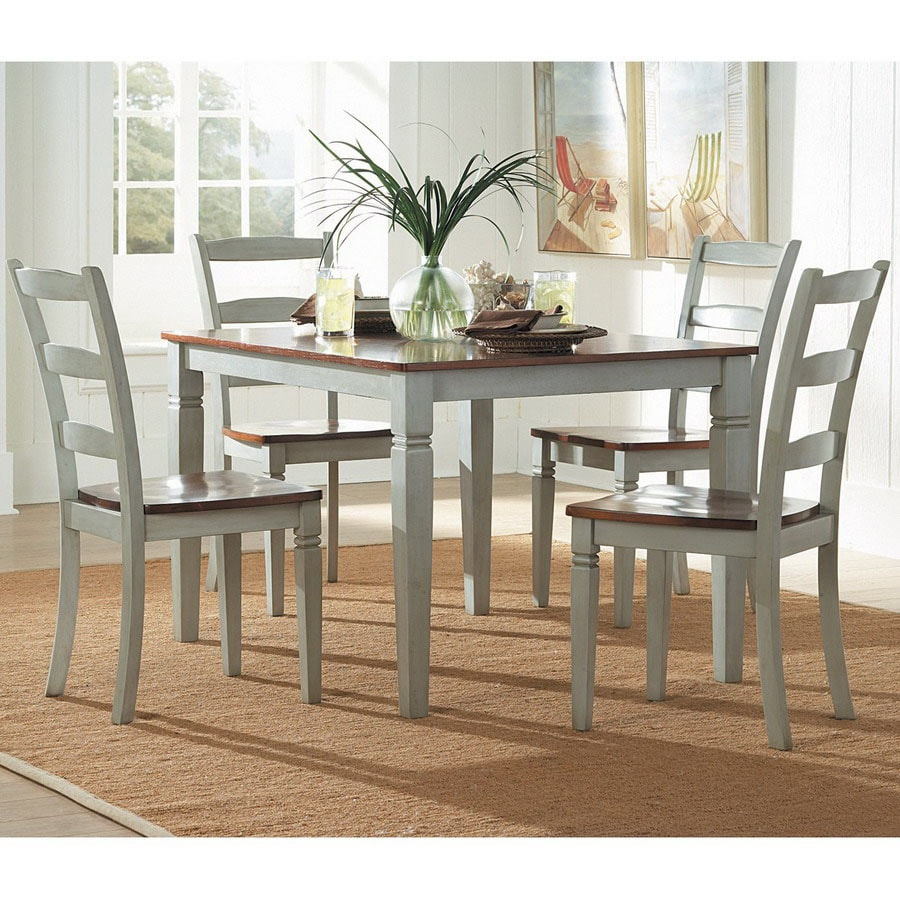 Shop Homelegance Clearwater Grey Dining Set At