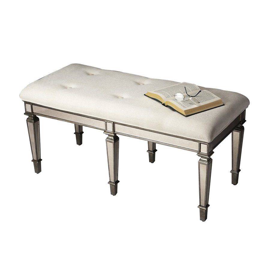 Butler Specialty Pewter Indoor Accent Bench