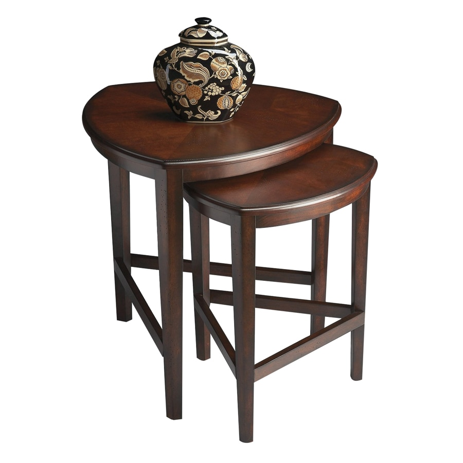 Butler Specialty Butler Loft Chocolate Cherry Accent Table Set
