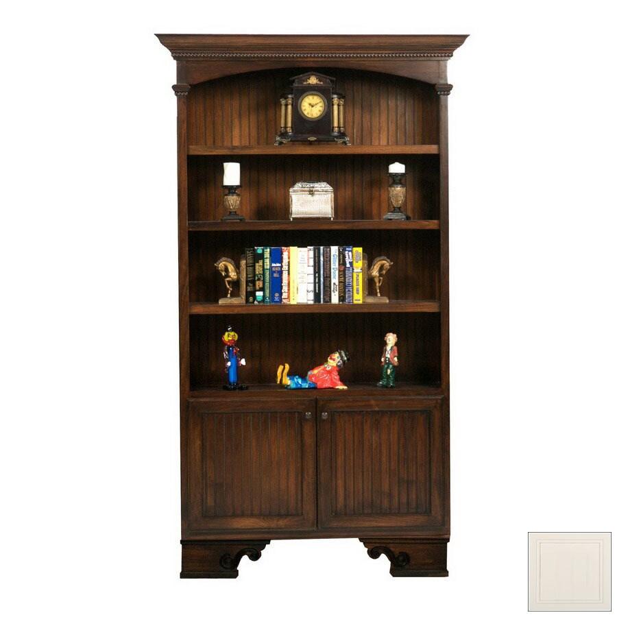 Eagle Industries American Premiere Bright White 79.25-in 3-Shelf Bookcase
