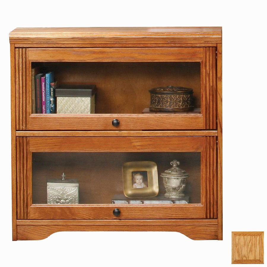 Eagle Industries Oak Ridge Light Oak 46-in 3-Shelf Bookcase