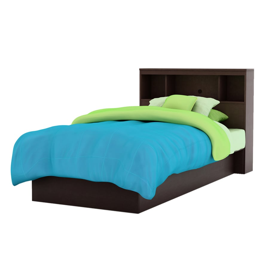 South Shore Furniture Cakao Chocolate Twin Platform Bed