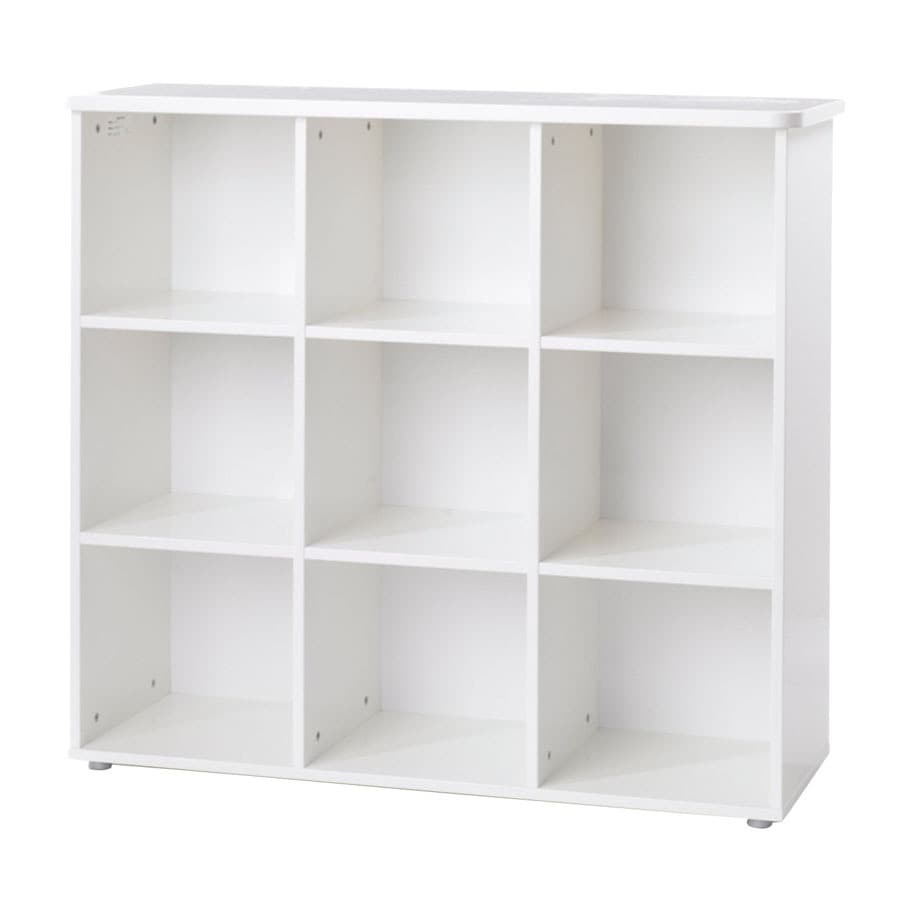 Tvilum Jessie White 43.25 Inches-Shelf Bookcase