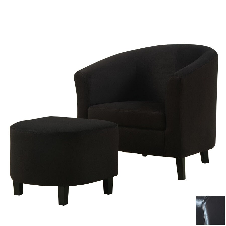 Shop Monarch Specialties Black Accent Chair At