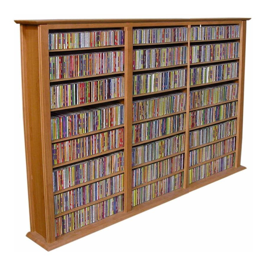 Venture Horizon Oak Gaming Storage Unit