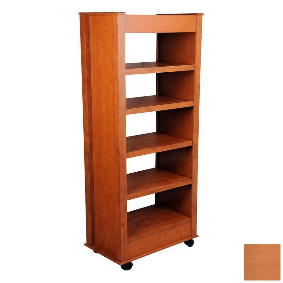 Venture Horizon Cherry 59.5-in 5-Shelf Bookcase
