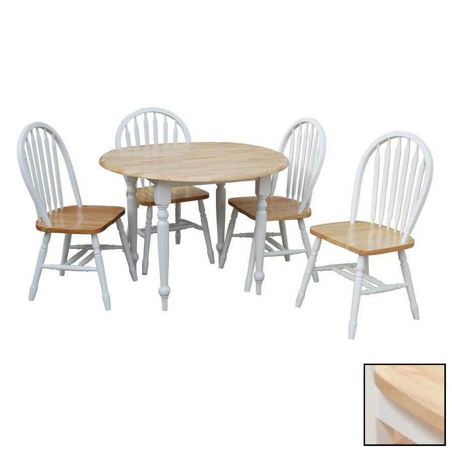 Shop TMS Furniture White Dining Set at Lowes.com