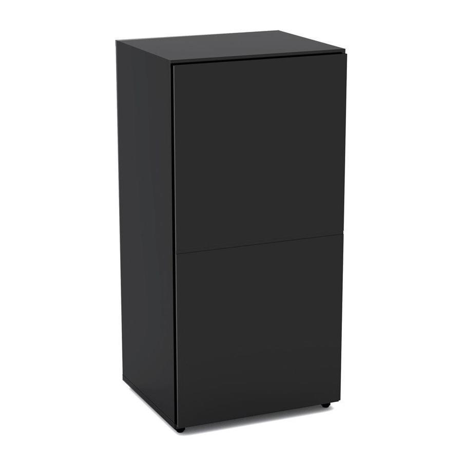 Nexera Vice Versa White 15.75-in W x 60-in H x 13.75-in D 5-Shelf Bookcase