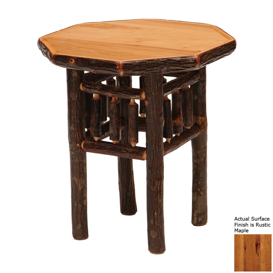 Fireside Lodge Furniture Hickory Rustic Maple Nightstand
