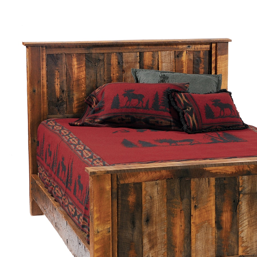 Fireside Lodge Furniture Barnwood Queen Headboard