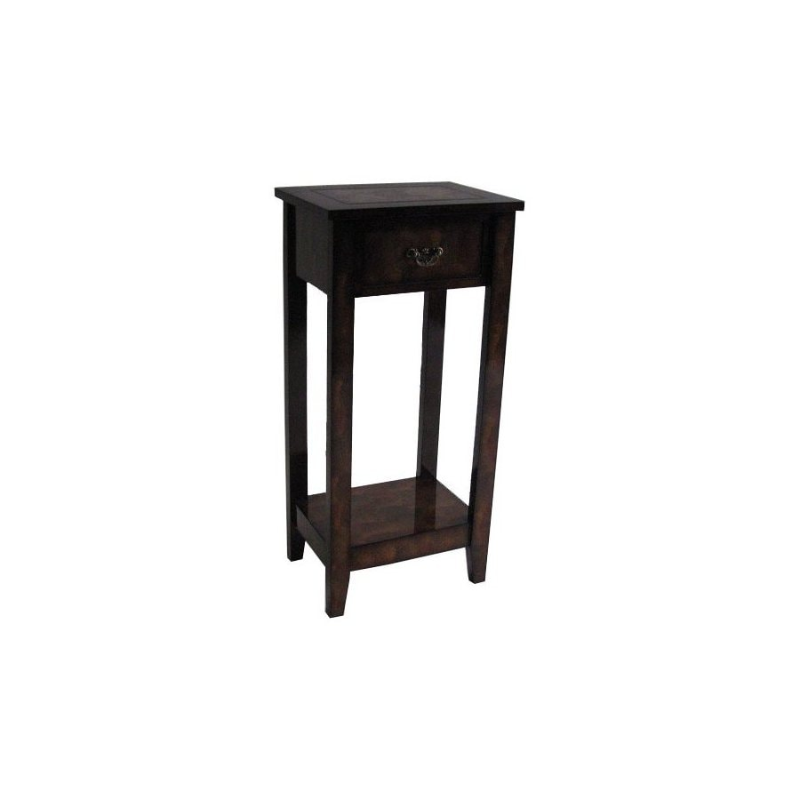 Cheung's Brown Rectangular End Table