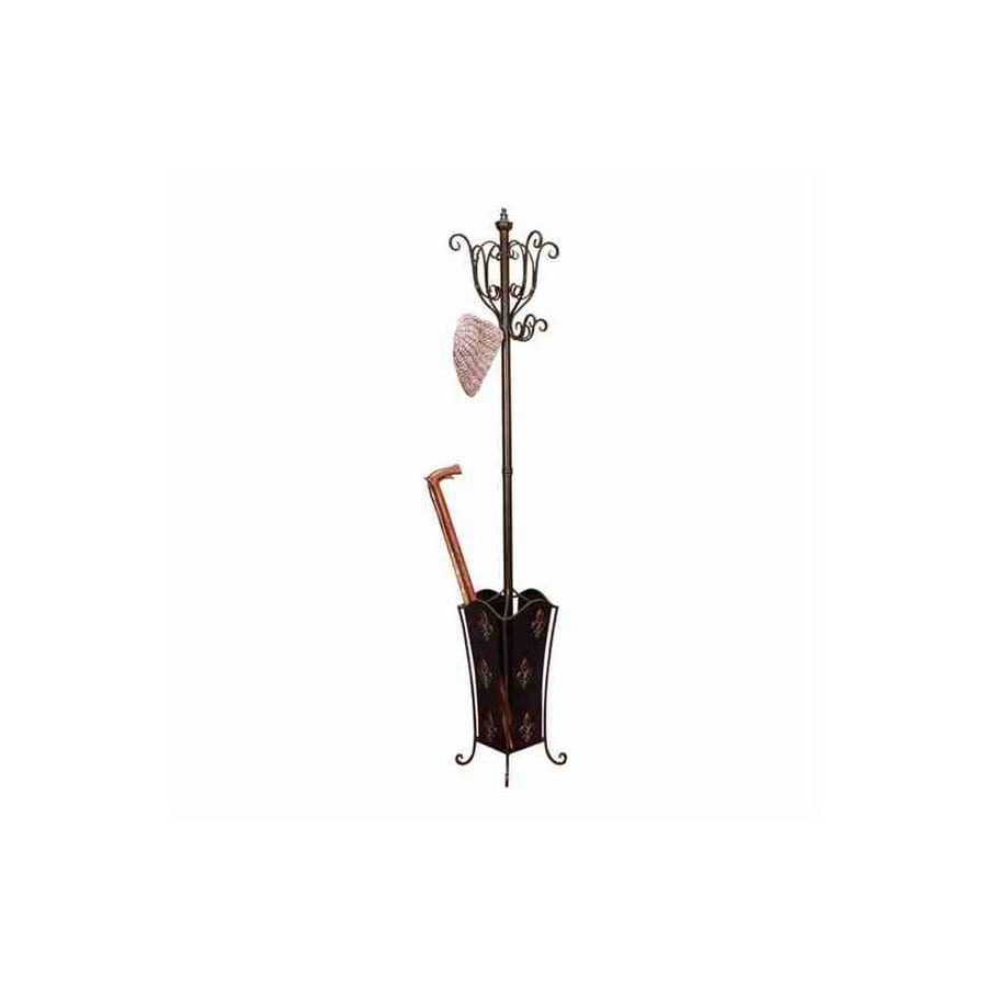Woodland Imports 8-Hook Coat Stand