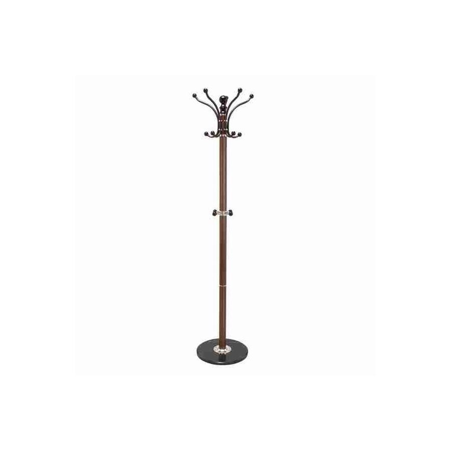 Woodland Imports Polished-Hook Coat Stand