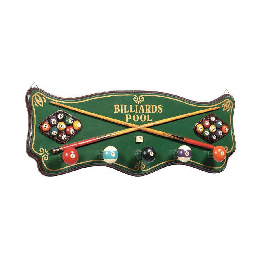 RAM Gameroom Products Billiards 5-Hook Coat Stand