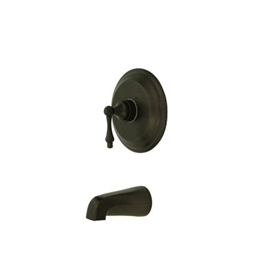 Elements of Design St. Louis Oil-Rubbed Bronze 1-Handle-Handle Fixed Wall Mount Bathtub Faucet
