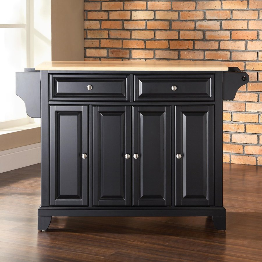 Shop Crosley Furniture 52-in L X 18-in W X 36-in H Black