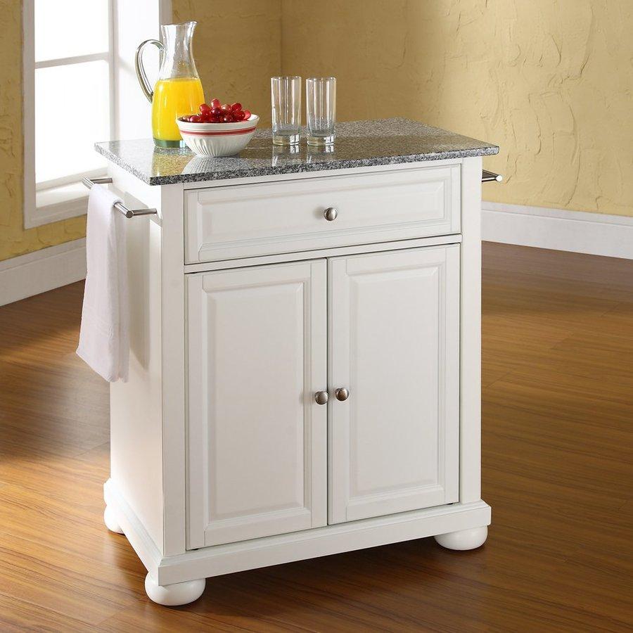 Crosley Furniture 28.25-in L x 18-in W x 36-in H White Kitchen Island