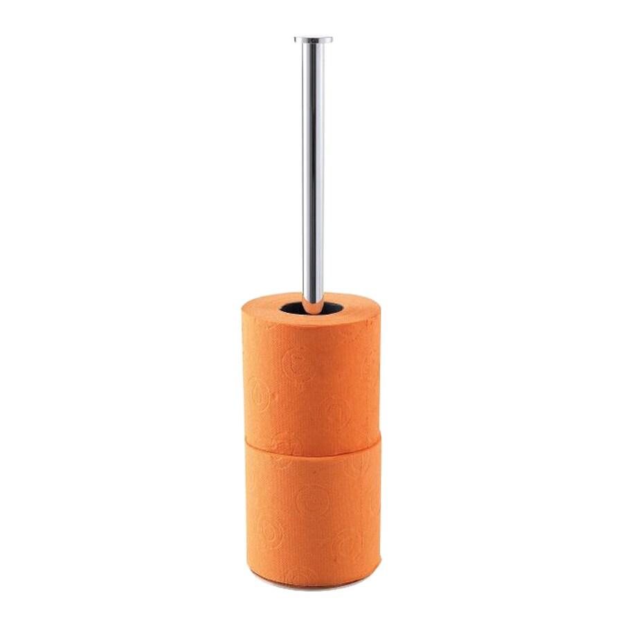 Countertop Toilet Paper Holder : Nameeks Stilhaus Chrome Freestanding Countertop Toilet Paper Holder