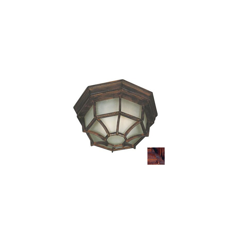 Kenroy Home Dural 11-in Outdoor Flush-Mount Light