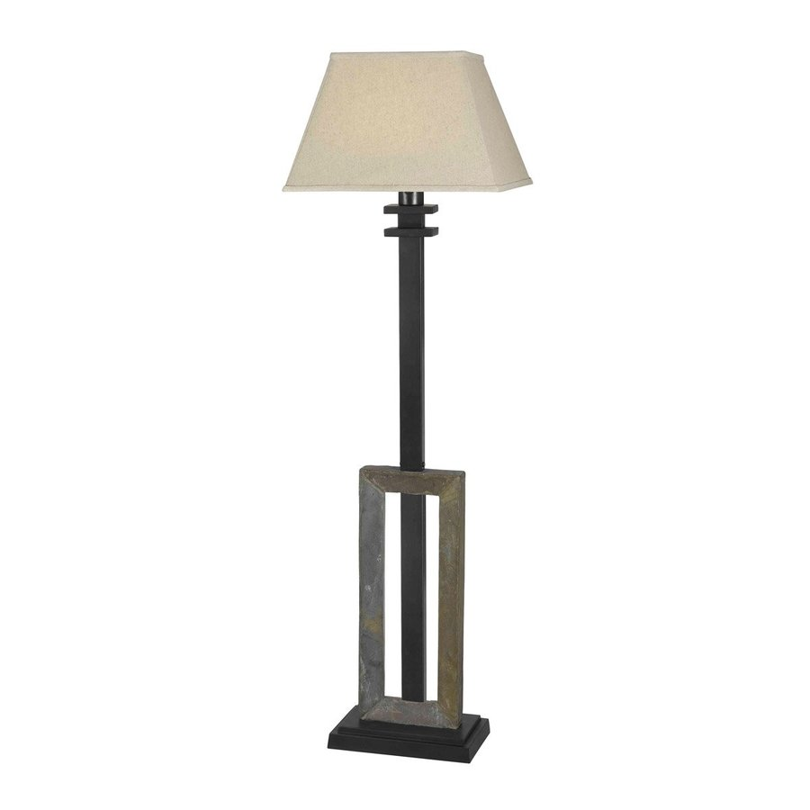 home egress 60 in plug in incandescent outdoor floor lamp at. Black Bedroom Furniture Sets. Home Design Ideas