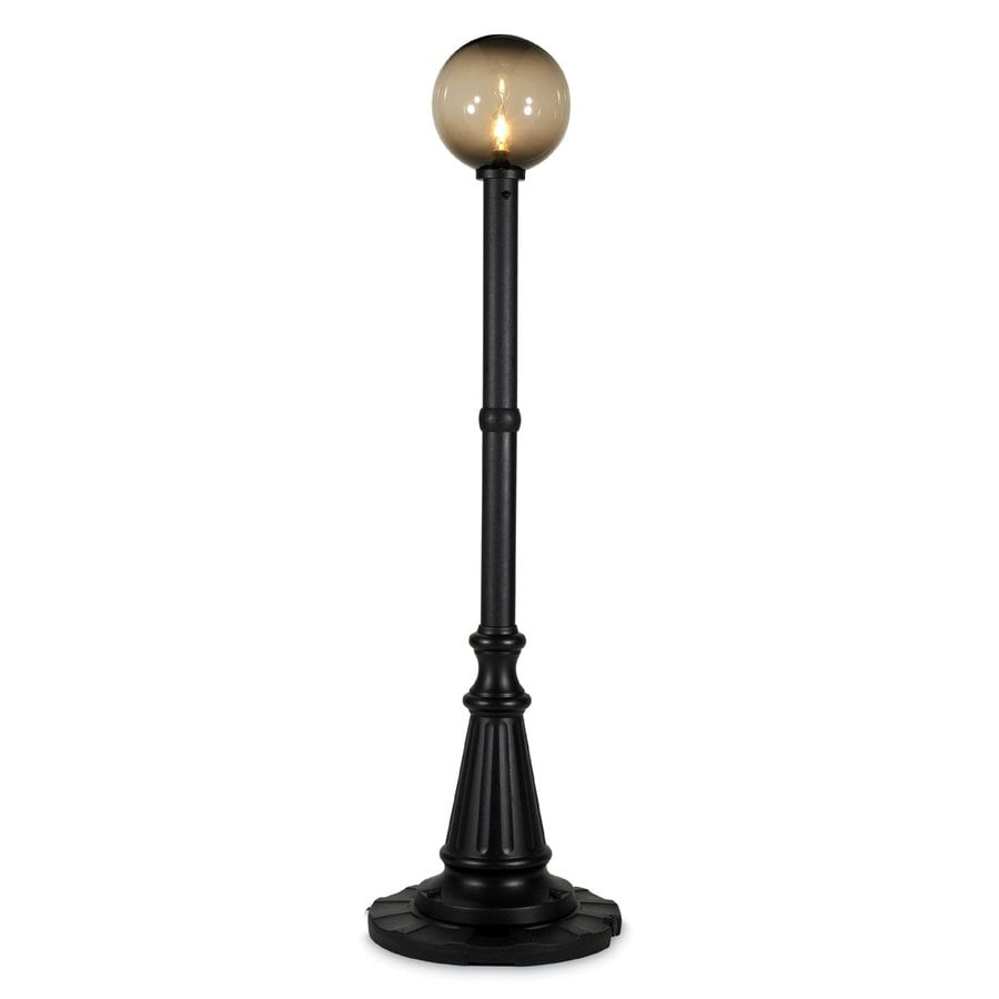 Shop patio living concepts 82 in touch plug in outdoor for Outdoor lantern floor lamp