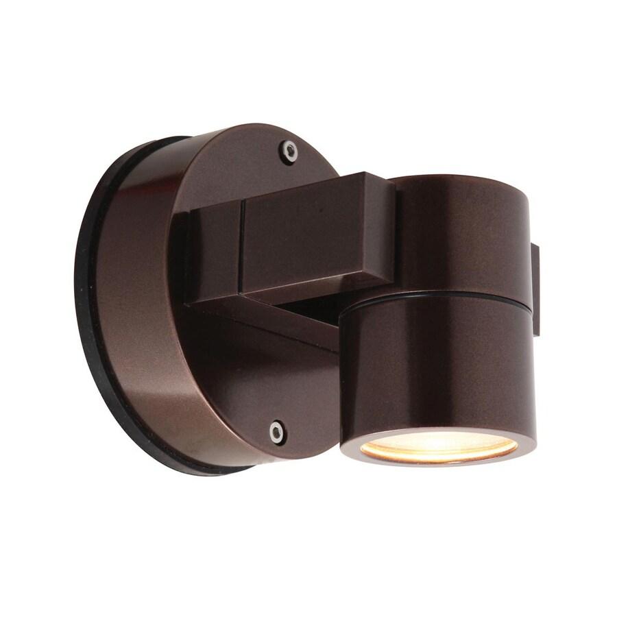 Access Lighting Ko 4-in H Bronze Outdoor Wall Light