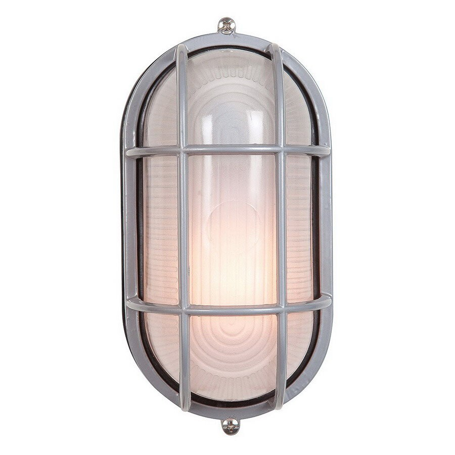 Access Lighting Nauticus 4.25-in H Satin Outdoor Wall Light