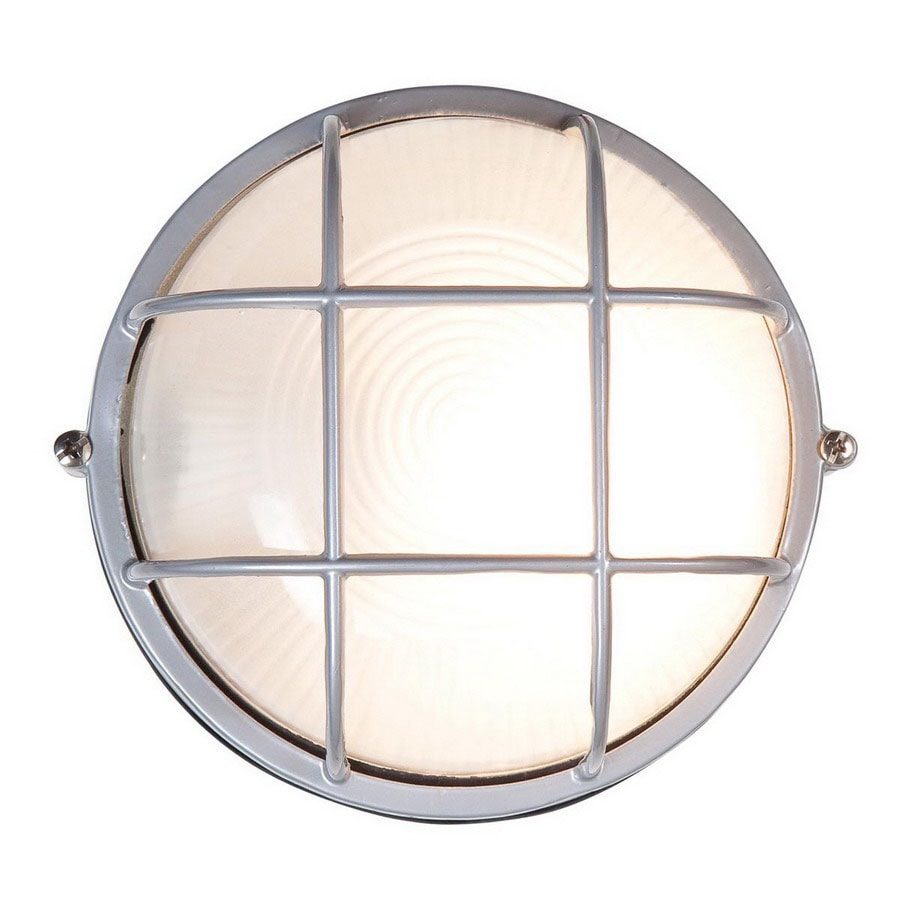Access Lighting Nauticus 8-in H Satin Outdoor Wall Light