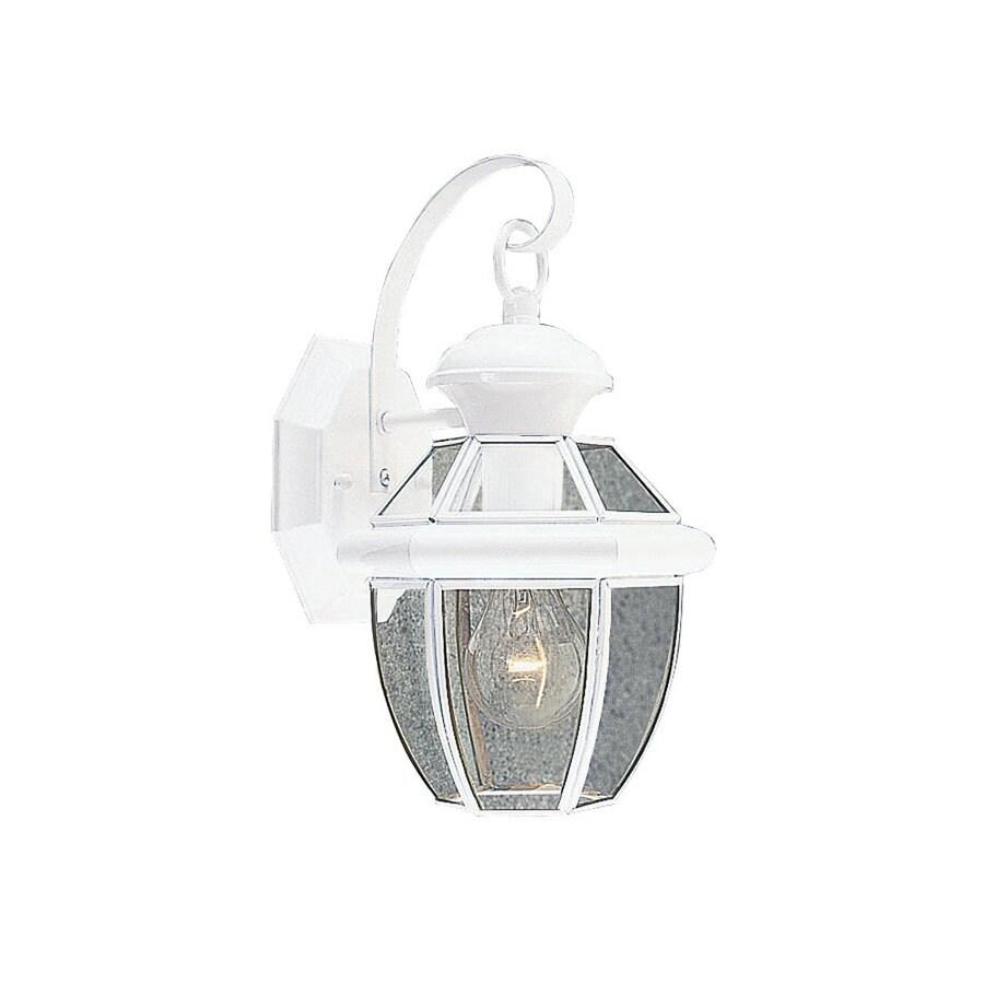 Livex Lighting Monterey 12.5-in H White Outdoor Wall Light