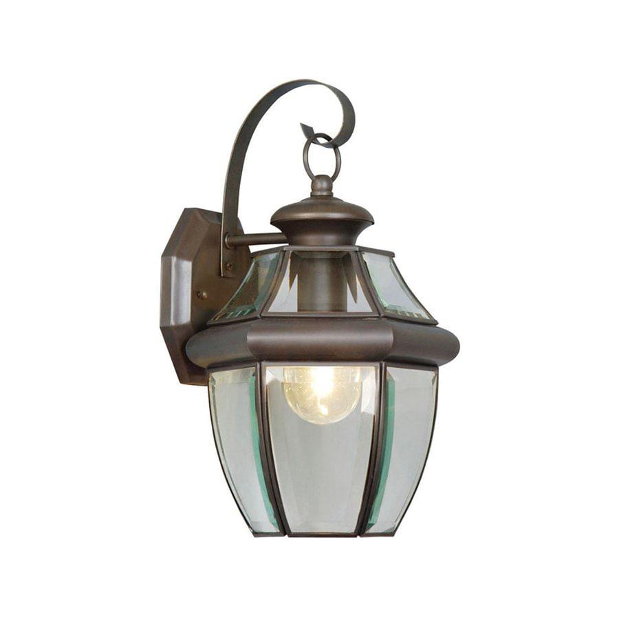 Livex Lighting Monterey 13-in H Bronze Outdoor Wall Light