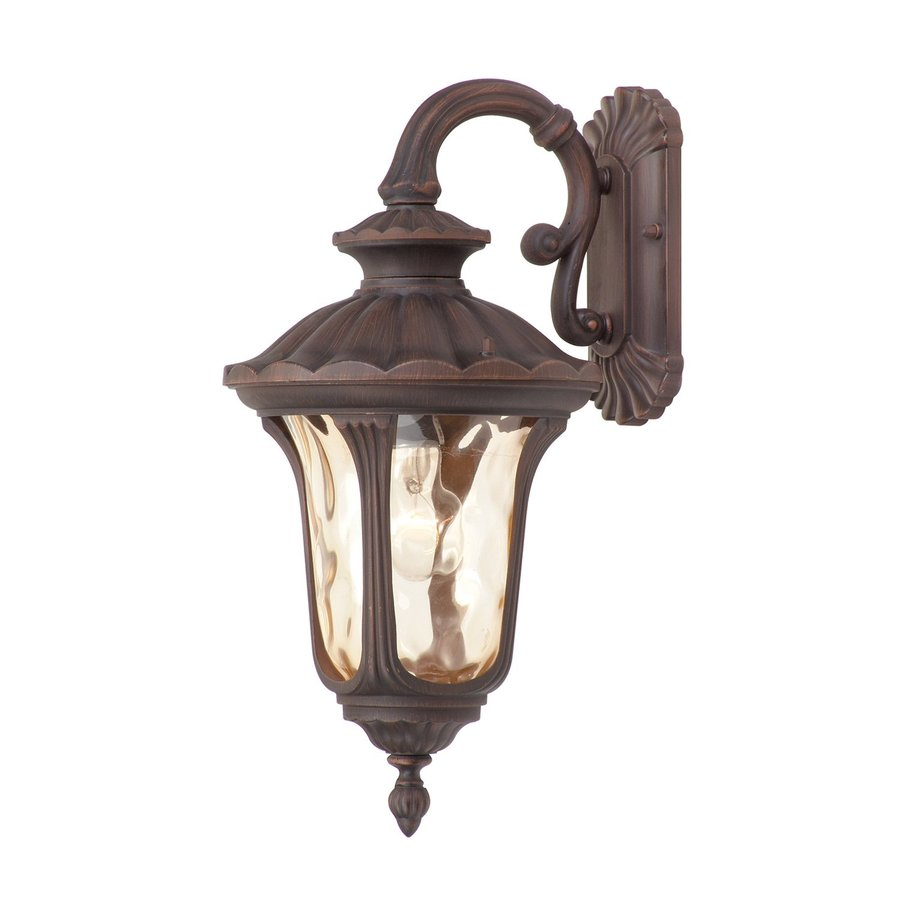 Livex Lighting Oxford 19-in H Imperial Bronze Outdoor Wall Light
