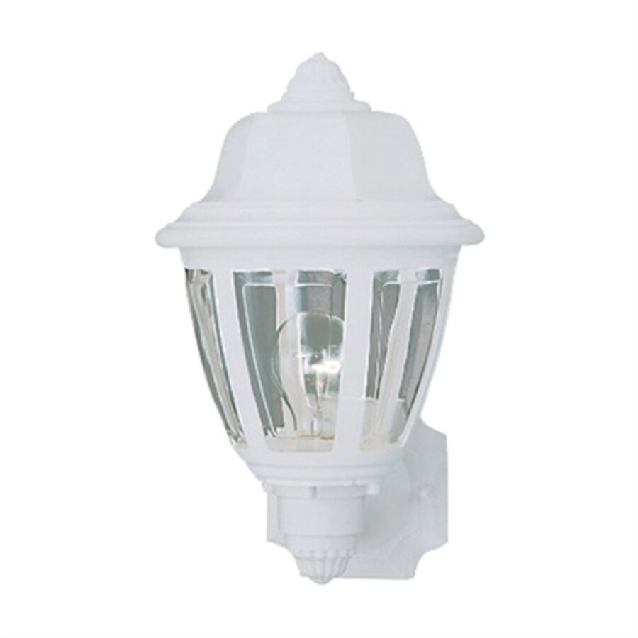 Thomas Lighting 13.5-in H White Outdoor Wall Light