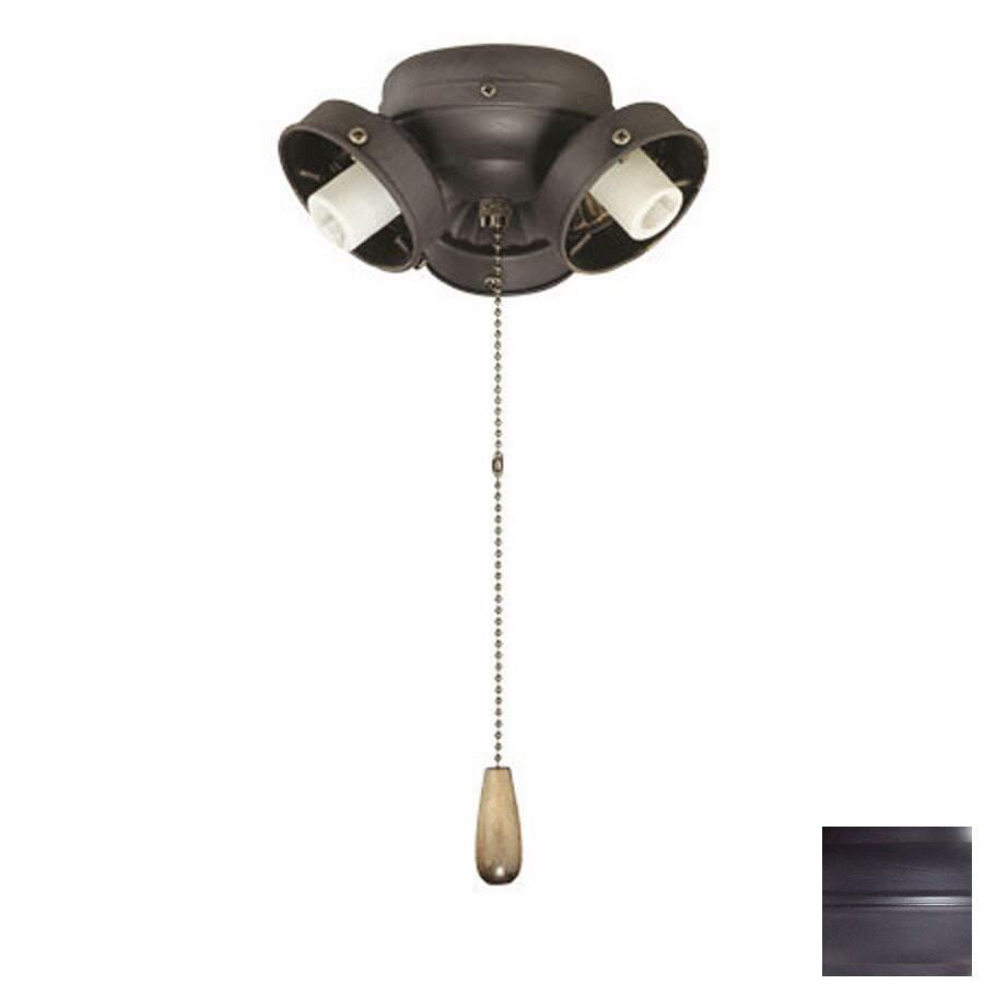 Thomas Lighting 3-Light Painted Bronze Ceiling Fan Light Kit