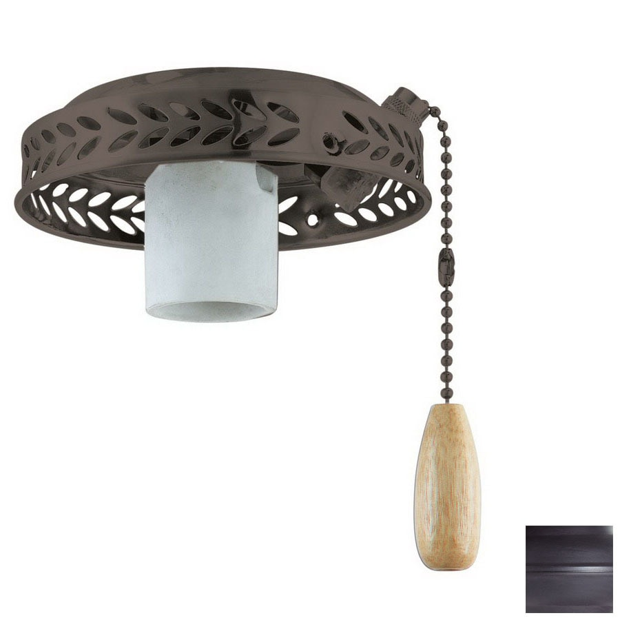 Thomas Lighting 1-Light Painted Bronze Ceiling Fan Light Kit