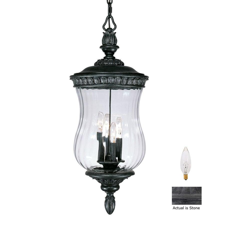 Acclaim Lighting Bel Air 28-1/2-in H Stone Outdoor Pendant Light