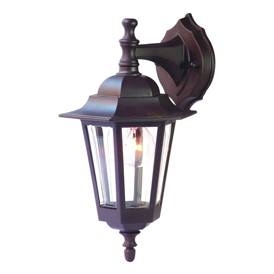 Acclaim Lighting Tidewater 14.25-in H Architectural Bronze Outdoor Wall Light
