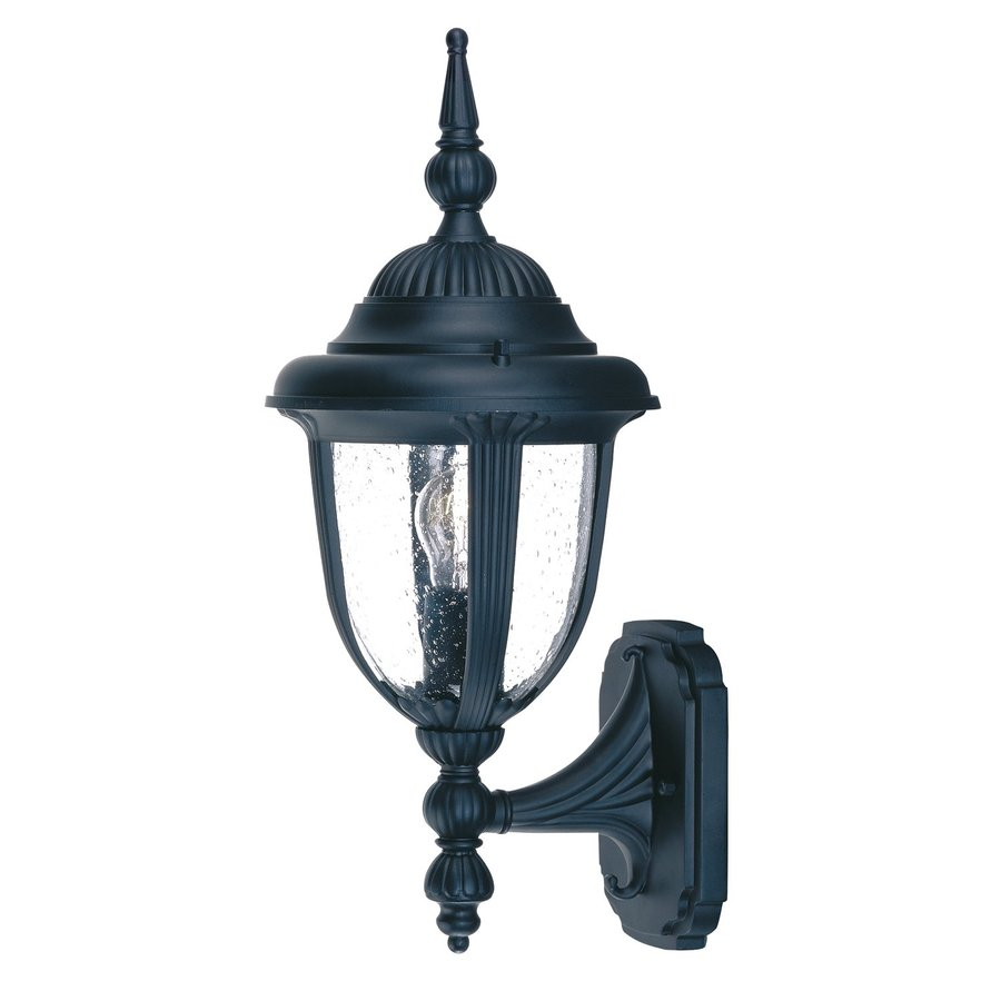 Acclaim Lighting Monterey 16-in H Matte Black Outdoor Wall Light