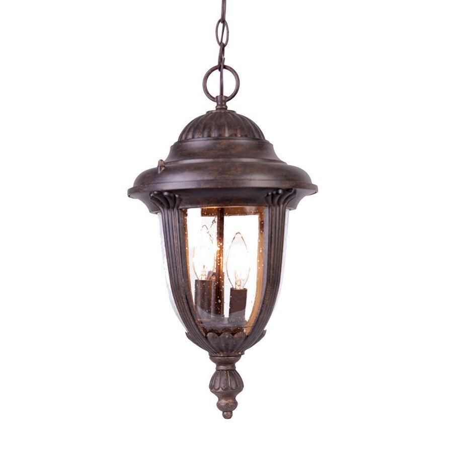 Acclaim Lighting Monterey 19-in H Black Outdoor Pendant Light
