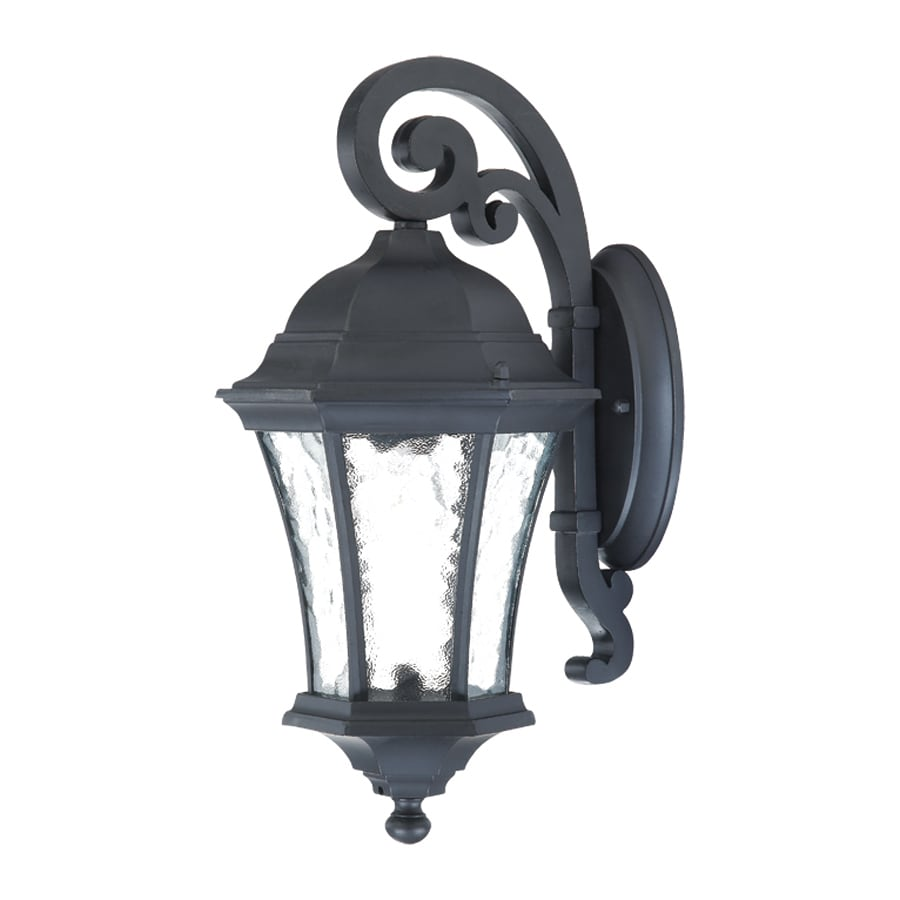 Acclaim Lighting Waverly 16.5-in H Matte Black Outdoor Wall Light