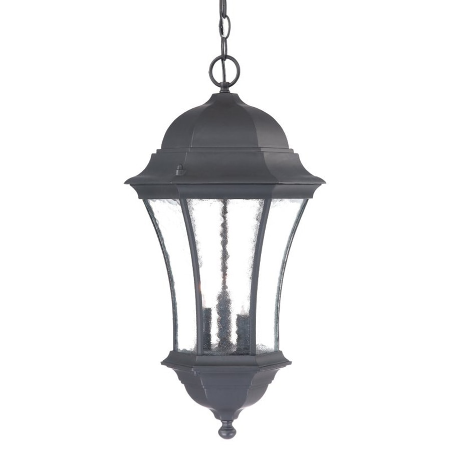 Acclaim Lighting Waverly 23.5-in H Black Outdoor Pendant Light