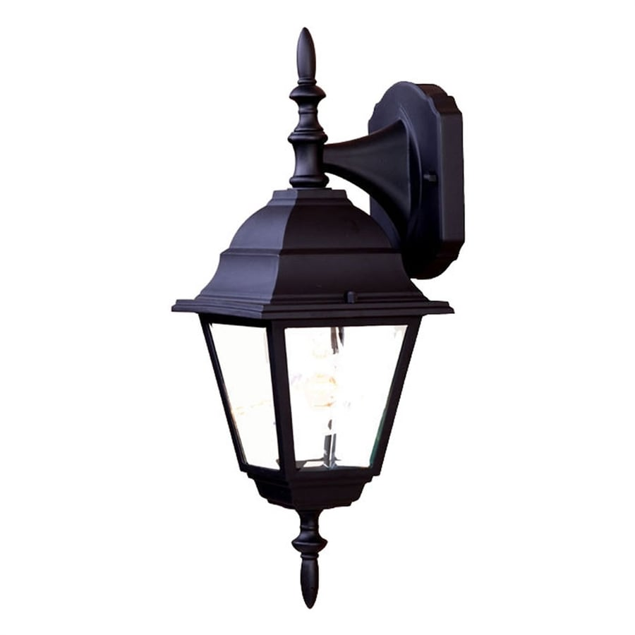 Acclaim Lighting Builders Choice 16.25-in H Matte Black Outdoor Wall Light