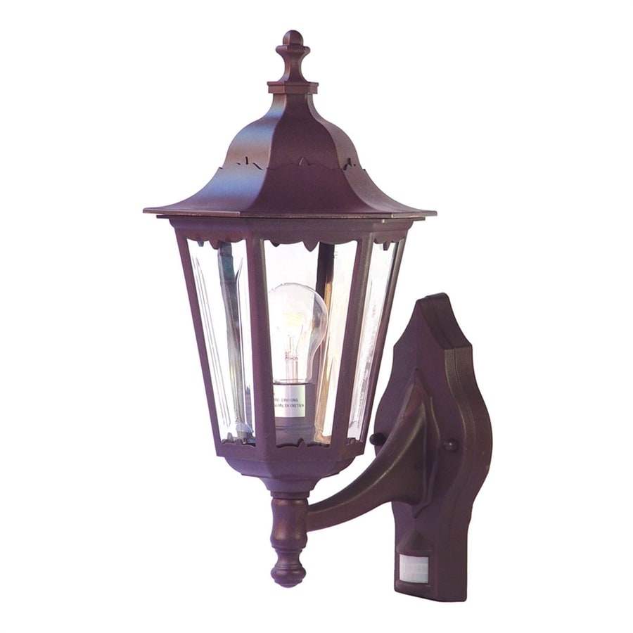Acclaim Lighting Tidewater 18.5-in H Architectural Bronze Motion Activated Outdoor Wall Light
