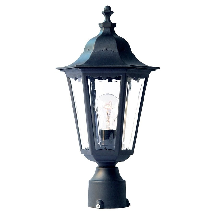 Acclaim Lighting Tidewater 18-in H Matte Black Post Light