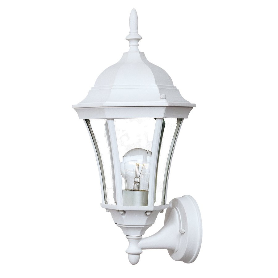 Acclaim Lighting Brynmawr 17-in H Textured White Outdoor Wall Light