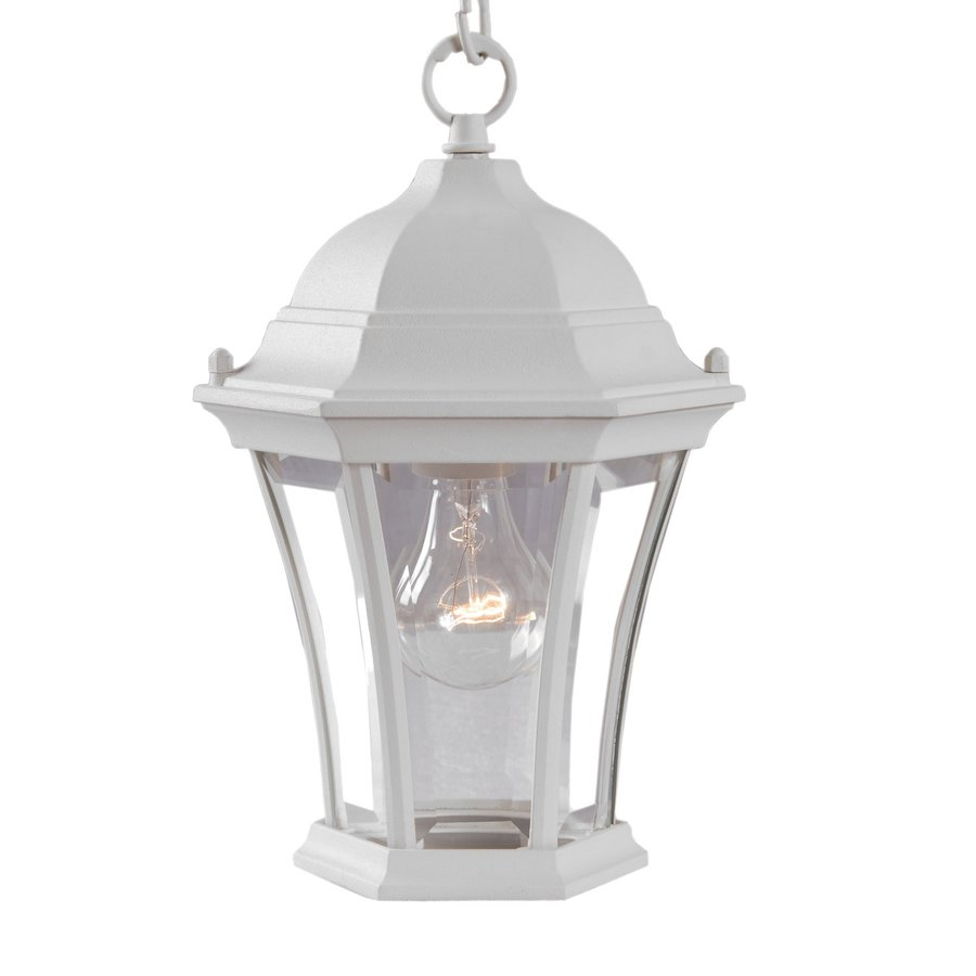 Acclaim Lighting Brynmawr 12-in H White Outdoor Pendant Light