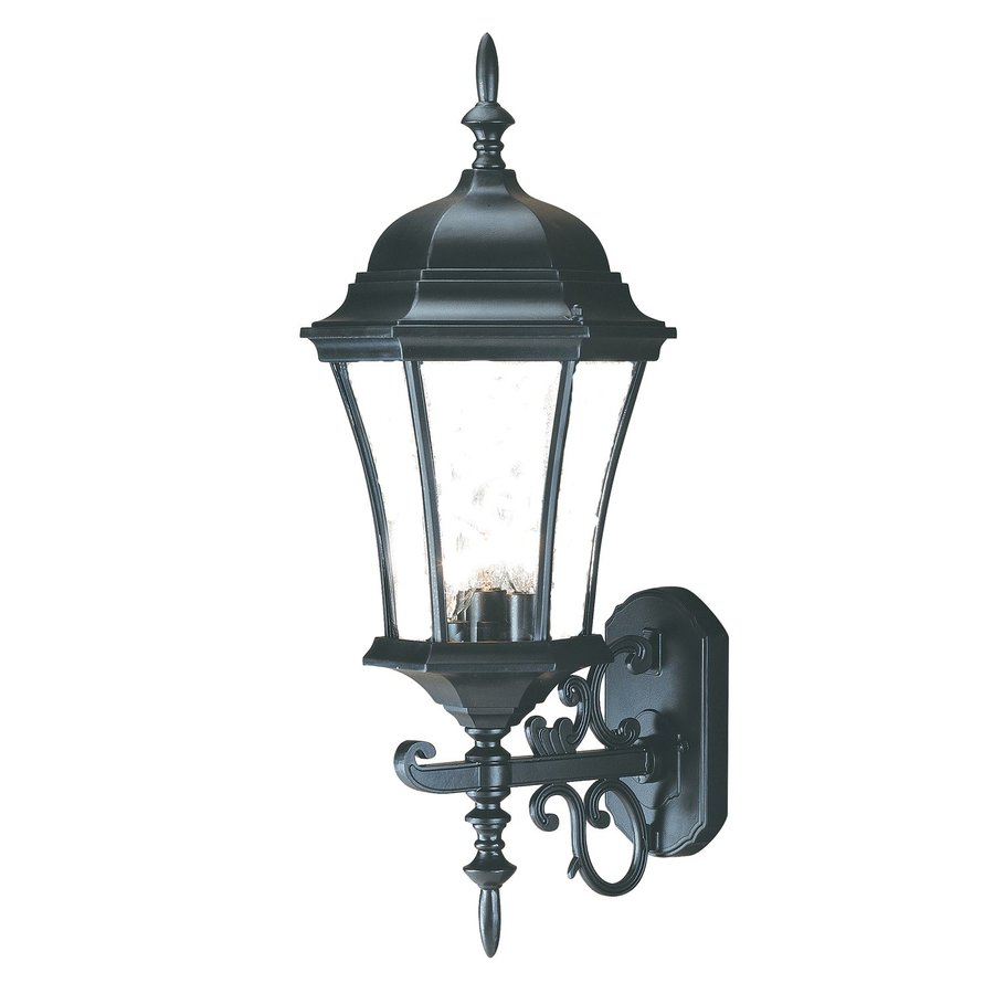 Acclaim Lighting Brynmawr 22-in H Matte Black Outdoor Wall Light