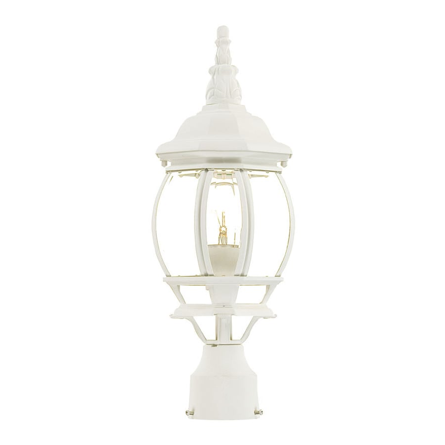 Acclaim Lighting Chateau 18-in H Textured White Post Light