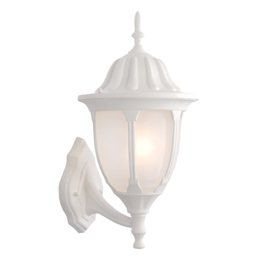 Acclaim Lighting Suffolk 18.25-in H Textured White Outdoor Wall Light